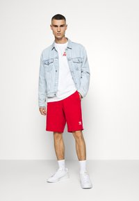 HUF - DESTROY ALL MONSTERS TEE - Print T-shirt - white - 1
