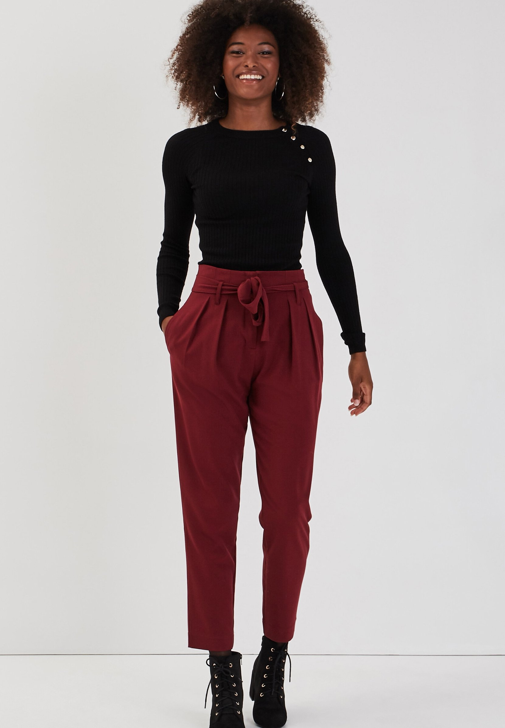 Femme MIT KNÖPFEN - Pullover