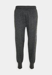 LOOP BACK - Pyjama bottoms - charcoal heather