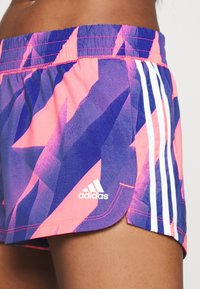 adidas Performance - PACER - Pantalón corto de deporte - signal pink/white - 4