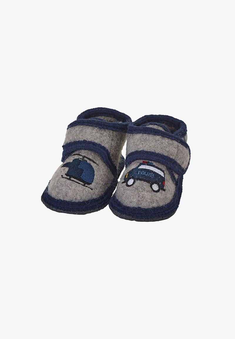 Sterntaler - WINTER HAUSSCHUH - First shoes - dunkelgrau