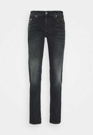 GROVER - Straight leg jeans - dark blue