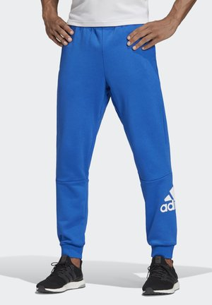 MUST HAVES FRENCH TERRY BADGE OF SPORT JOGGERS - Träningsbyxor - blue