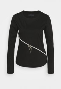 Diesel - T-CUTTER-LS - Long sleeved top - black - 0