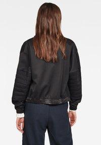 G-Star - BEETLE QUILT ZIP - Winter jacket - black - 1