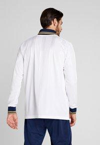 adidas Performance - REAL ICONS TEE - Klubbkläder - white/black - 2