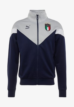 ITALIEN FIGC ICONIC MCS  - Training jacket - peacoat/grey