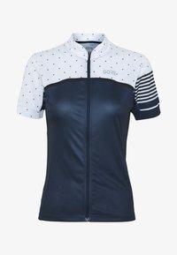 Gore Wear - TRIKOT - T-Shirt print - orbit blue/white - 3