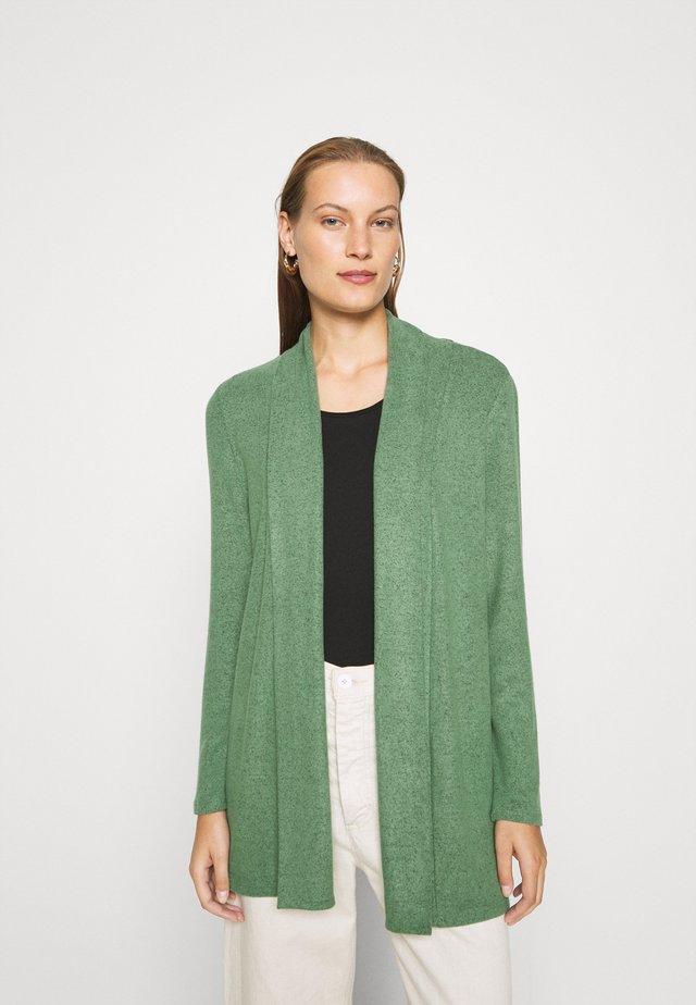 Cardigan - vintage green melange