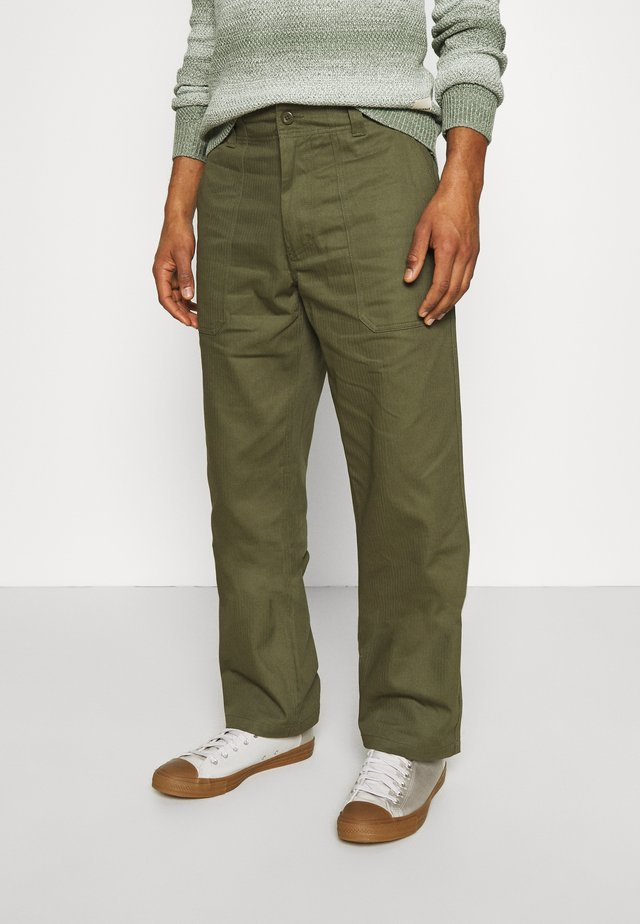 FUNKLEY - Pantalon classique - military green