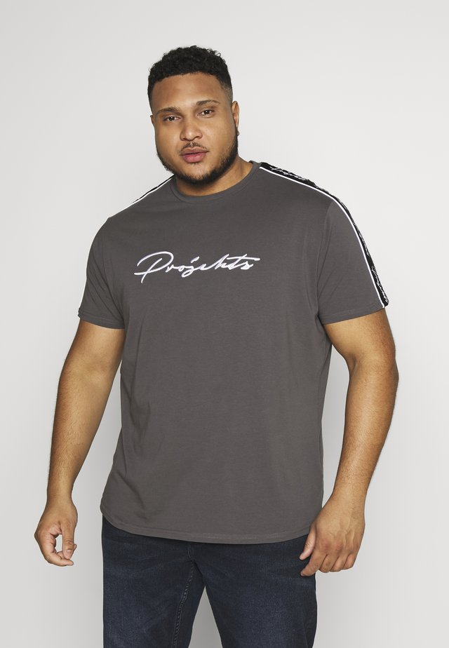 HOLDEN SIGNATURE TAPED - T-shirts print - grey