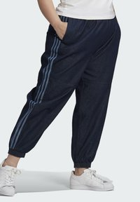adidas Originals - DENIM TRACKPANT - Tracksuit bottoms - blue - 2