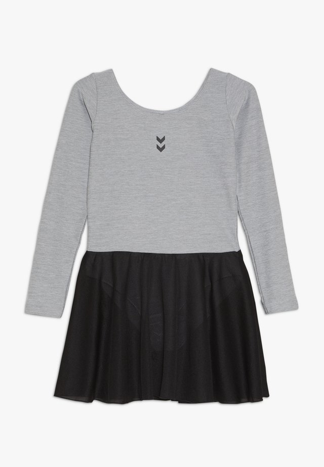 TUTTI GYMNASTIC SUIT - Robe de sport - grey melange