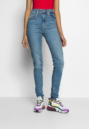 MILE HIGH SUPER SKINNY - Skinny-Farkut - light-blue denim