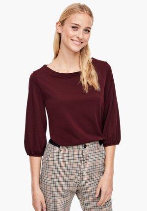 MIT 3/4-ÄRMELN - Long sleeved top - dark red