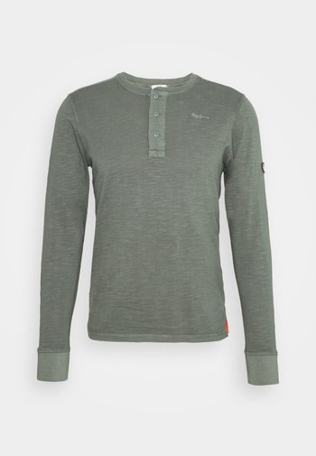 AQULES - Long sleeved top - forest green