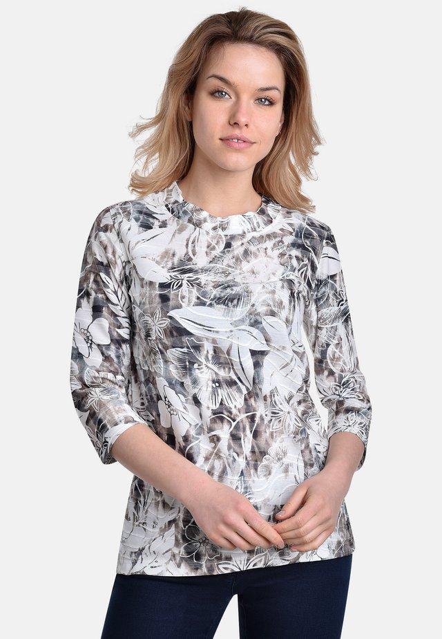 T-shirt print - silver-sand