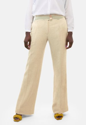 MARLENE  - Trousers - beige