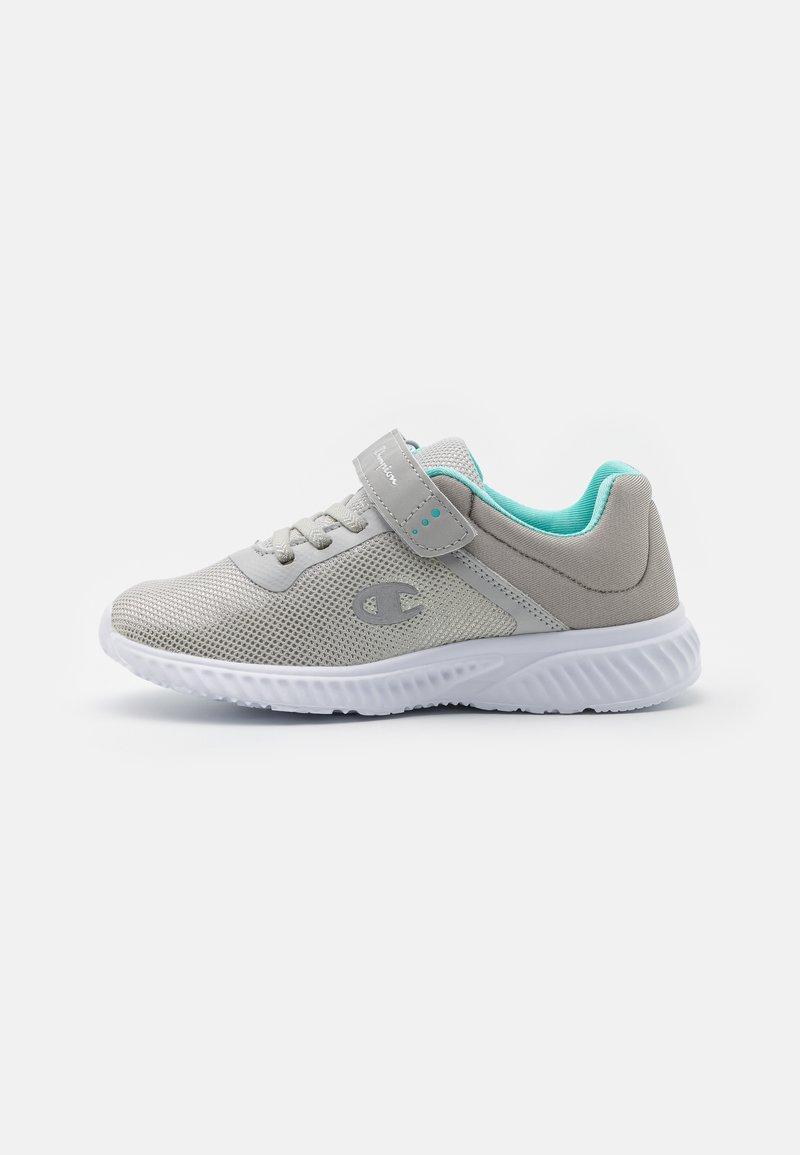 Champion - LOW CUT SHOE SOFTY 2.0 UNISEX - Sports shoes - light grey/turquoise