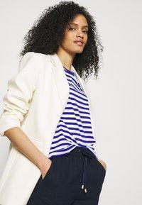 Marks & Spencer London - WIDE LEG - Trousers - dark blue - 3