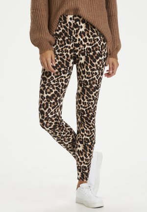 KAPAPPI  - Legging - brown leo print