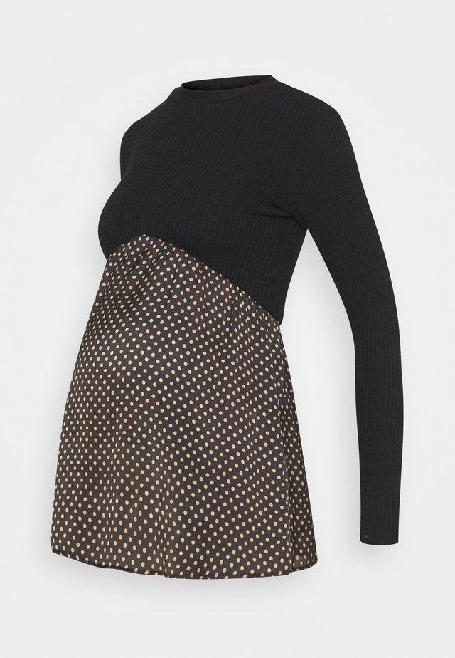 MAG COSTINA POIS - Pullover - black