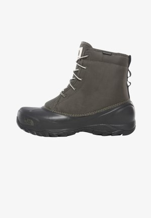 M TSUMORU BOOT - Vinterstøvler - new taupe green/tnf black