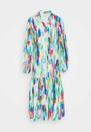 PRINT MAXI DRESS - Skjortekjole - multi