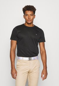 Calvin Klein Golf - HARLEM TECH 3 PACK - T-shirt basic - black/white/charcoal - 4