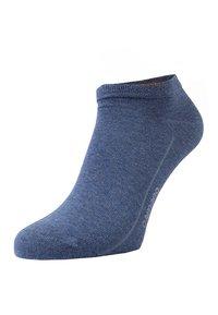camano - SOFT SNEAKER BOX 7 PACK - Socks - denim melange/stone melange/navy - 1