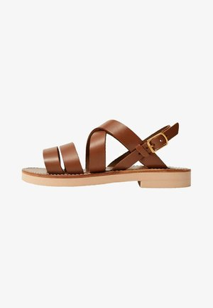 BRISBANE - Sandals - marron moyen
