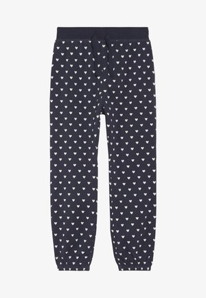 RAINA - Tracksuit bottoms - navy/ivory