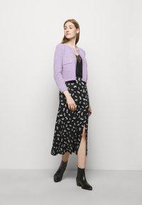 maje - JISEILLE - A-line skirt - groseilles noir - 1