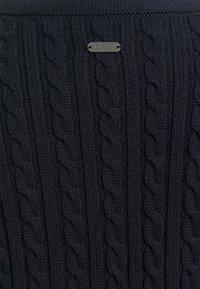 Barbour - STITCH GUERNSEY DRESS - Jumper dress - navy - 2