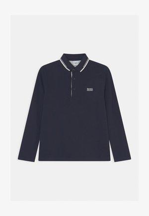 LONG SLEEVE - Polo shirt - navy