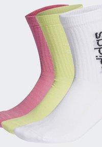 adidas Performance - 3 PACK - Sportsokken - white - 3