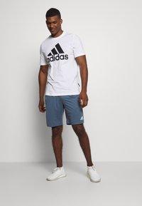 adidas Performance - Sports shorts - blue - 1