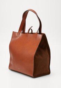 CLOSED - HOPE LONG TOTE SET - Tote bag - antique wood - 5