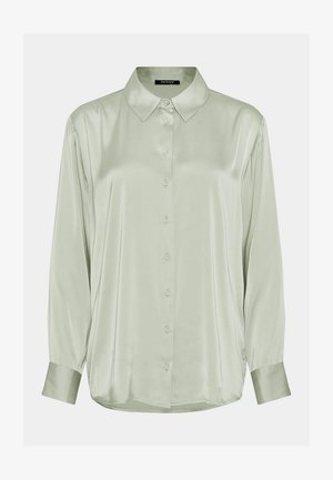 Button-down blouse - meeresgrün