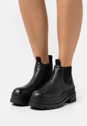 AMALFI - Platform ankle boots - black