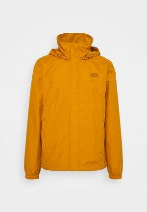 RESOLVE JACKET - Hardshell-jakke - citrine yellow