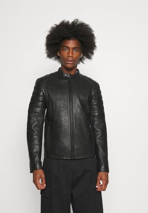 RONN - Leather jacket - black
