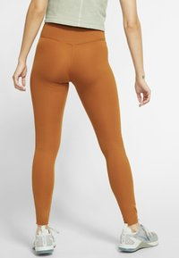 Nike Performance - ONE LUXE - Tights - burnt sienna - 2