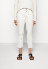 Frame Denim - LE HIGH STRAIGHT SPRING MIX - Straight leg jeans - vintage white multi - 0