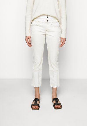 LE HIGH STRAIGHT SPRING MIX - Džíny Straight Fit - vintage white multi