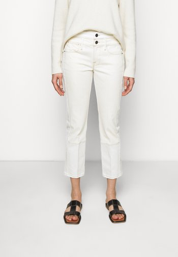 LE HIGH STRAIGHT SPRING MIX - Straight leg jeans - vintage white multi