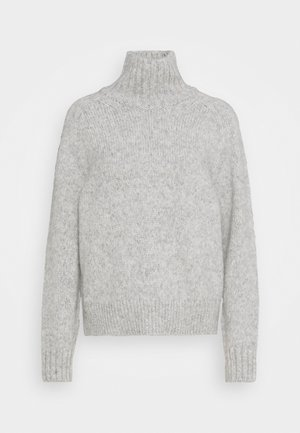 Strickpullover - light grey melange