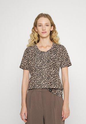 PRECIOUS - T-shirt print - camel