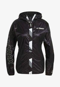 adidas Performance - TERREX AGRAVIC PRO WIND.RDY WINDBREAKER - Windbreaker - black - 7