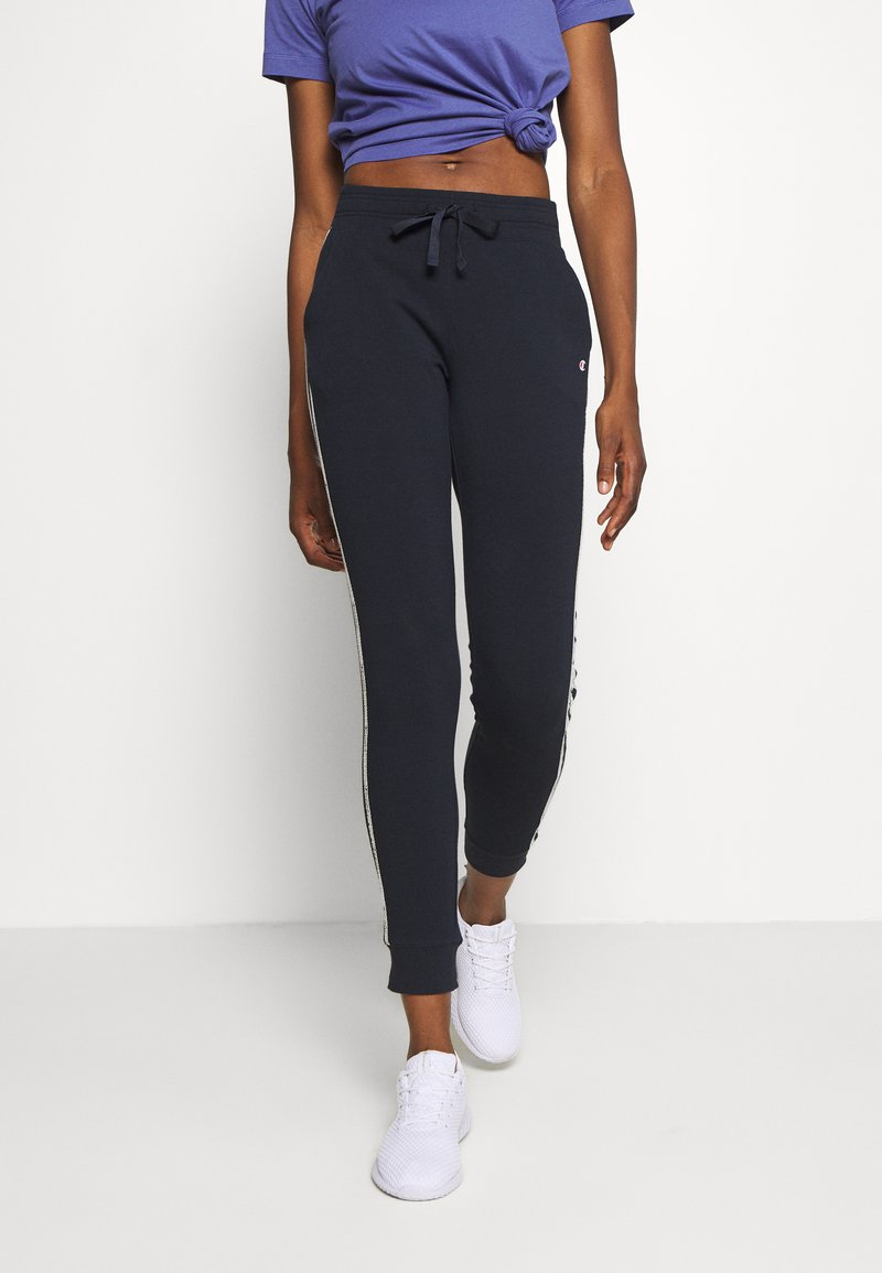 Champion - CUFF PANTS LEGACY - Tracksuit bottoms - dark blue